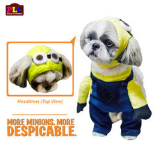 Cheap and Quality Despicable Minion Dog Costume Clothes Supplier from Philippines- Wholesale