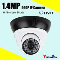HD CCTV Camera Systems 960P Home Security Camera D/N Vision IP Camera 3.6/6mm Lens