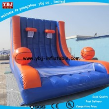 2015 inflatable giant basketball/ inflatable basketball game/giant inflatable basketball hoop