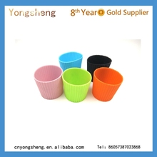 2015 hot selling silicone mug cup cover