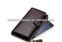 men wallet alarm tyvek slim wallet goat skin wallet