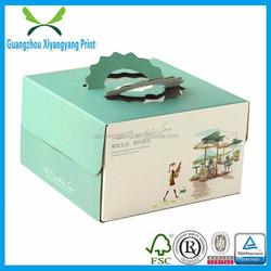 color print handheld fruits packing box wholesale