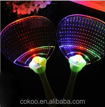 LED plastic hand fan/ LED fan/ LED hand fan (directly from factory)