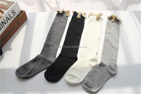 Boot Socks With Lace - Knee High Boot Socks, Wooden Button Boot Leg Warmer,Winter Lace Weave Top Women Boot Socks