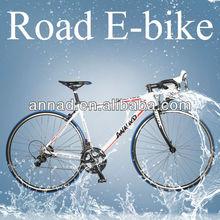 hidden battery road carbon electric bike