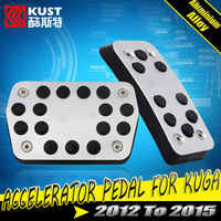 KUST Aluminium Alloy Auto Accelerator Pedal For Kug 2012 2013 Brake Pedal For Kug a 2014 201g5 Car Gas Pedal For Escape For Ford