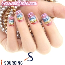 wholesale china supplier I-sourcing glitter sequins for attractive lady nail polish