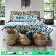 100% combed cotton 60S yarn 300TC reactive printing bed sheets/bedding set manufacturers in china