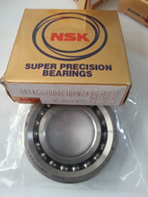 Nsk tamaño del rodamiento 30 * 62 * 15 mm bolas de contacto Angular rodamientos para máquina herramienta 30TAC62BDBC10PN7A