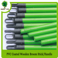 Household cleaning wooden broom pole from sweet factory