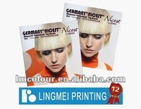 2012 Beautiful Cataloges Printing With Offset Printing & Hard Cover