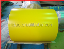 LIDAO Color Coated Aluminium Coils use paint from Becker or PPG