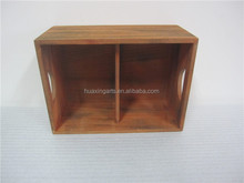 used wooden wine crates customization wholesale clapboard wood crate