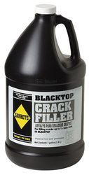 Blacktop Crack Filler, 1 gal., Can, Black - Xi'an Yamatake