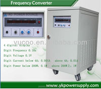 Alibaba show you how to use the Variable Frequency Inverter 50Hz / 60Hz to 400Hz