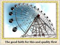 outdoor park rides used amusement equipment ferris wheel