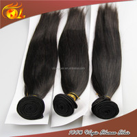Full cuticle can be dyed full fix hair virgin straight hair extension