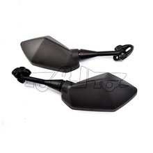 BJ-RM-054 Custom Black ABS Shell Acrylic Glass Mirror Motorcycle for Honda CBR600