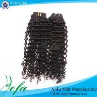 Wholesale european human deep wave hair