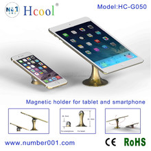 New design magnetic holder for iPad mini and iPhone rotating
