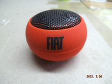 Mini Portable Capsule Speaker with Rechargeable Battery and Enhanced Bass+ Resonator