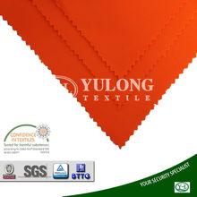 270g EN471 poly/cotton interweave fluorescent orange textile for workwear