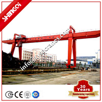 Light Duty Steady Lifting And Traveling Gantry Crane With Winch