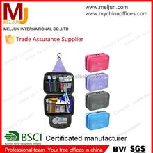 MELJUN Large capacity Portable travel toiletry kits Cosmetic bags Makeup bag Women travel bags