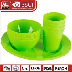 Chinese wholesale plastic tableware