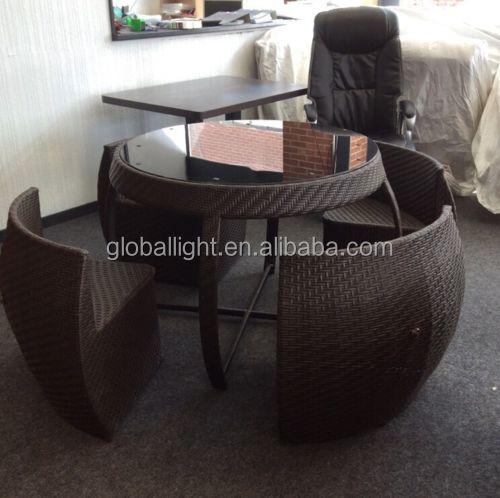 $_12 (10).jpg - Rattan Garden Space Saver Compact Chair Set Table Glass Patio