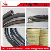 High Pressure Double Wire Braided Hydraulic Rubber Hose /Paker Manuli Hydraulic Hose With Yatai Brand / Low Price Hydraulic Hose