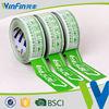 China acrylic adhesive bopp custom printed packing tape
