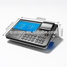 Qs-pc700 7 pulgadas programable terminal punto de venta con la tarjeta sim