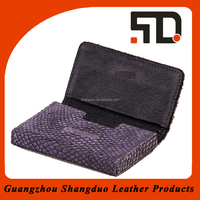 Experienced Manufacture High Quality Leather Name Card Holder Set