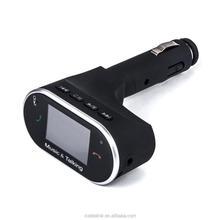 2015 New Car Bluetooth MP3 Player Bluetooth handsfree Car Kit FM Transmitter Stereo Car Bluetooth Kit