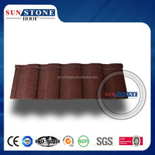 classical bond roof/cheap price asphalt rooftile/stone coated metal roofing