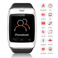 2014 Smart bluetooth watch work with Iphone/ Androind mobile phone with anti-lost function