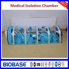 Anti virus biological Isolation Chamber for EBOLA/MERS with negative pressure filtration system