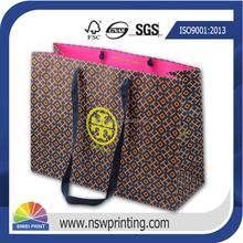Luxury Paper Shopping Bag Printing,Custom Printed Paper Bag Design