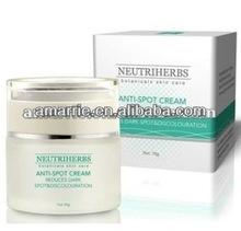 De calidad superior hidratante más fuerte que blanquea la crema para mancha oscura para el negro de la piel