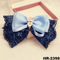 New arrivals fashion girls hair accessories high quality hair bows bulk hair bow for girls