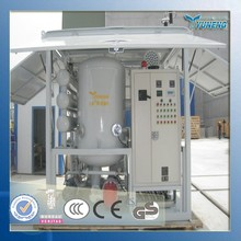 High Effective Increase Breakdown Voltage Mobile Transformer Oil Reconditioning System