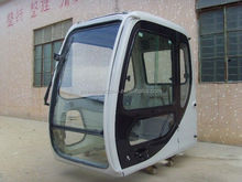 Sumitomo sh120-3 excavator cab with glass, wipe,door for SH120-2,SH120,drive cabin