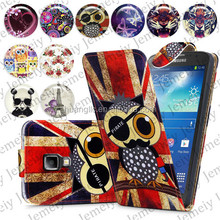 For Samsung GALAXY S4 Active I9295 Folio Print Flip Leather Case Phone Bag Back Cover Bags