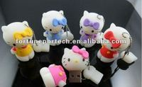 lovely cat usb flash memory drive