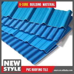 heat resistant building material spanish plastic roof tile