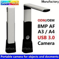 Hottest 5mega pixels a4 size paper scanner