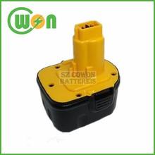 12V cordless drill replacement battery for dewalt dc9071 de9071 dw9071 12V 152250-27 397745-01
