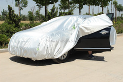 High Light Silver Color Aluminum Film Car Covers