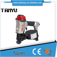 Coating Wooden Nails 2'', Coil Pallets Nails for Air Gun ,Nailer CN55